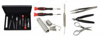 Youde UD Master Kit DIY Tool Kit for RBA Atomizer(Screwdriver/Tweezers/Diagonal Piers/Coil Jig/Cotton Hook)