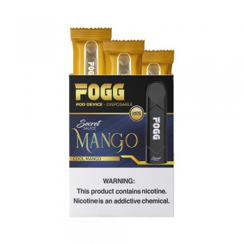 Fogg Vape Disposable Pod Device - Mango