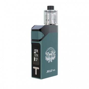 Joyetech Cuboid Pro with ProCore Aries Kit with 200W and 2ml Capacity-Silver
