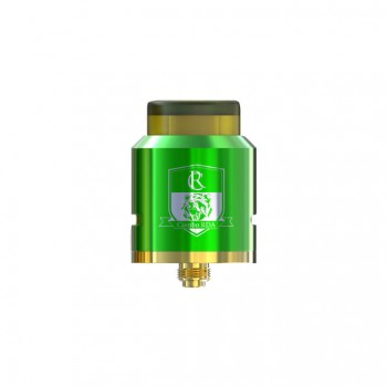 Crusaders Airflow Control 510 Thread DIY Rebuildable Dripping Atomizer - stainless steel