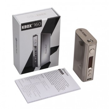 Eleaf iStick 40w Temperature Control Battery and eGo Threading Connector Kit-Brushed silver