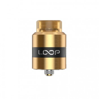 Wotofo Sapor  V2 25mm RDA Version with Dual Adjustable Top air flow Rebuildable Atomizer-Black