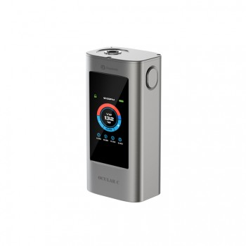 Eleaf iStick Basic 2300mah Mod Battery Simple Packing Magnetic Connector Side Liquid View Window-Blue
