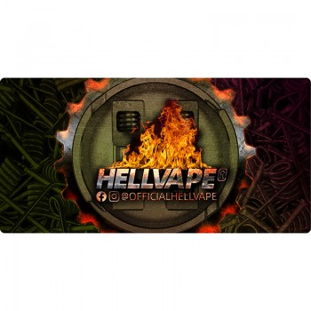 Hellvape Build Mat with Hellvape Logo