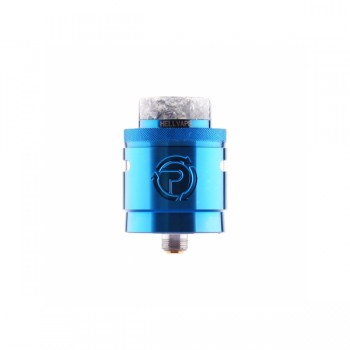 Crusaders Airflow Control 510 Thread DIY Rebuildable Dripping Atomizer - black