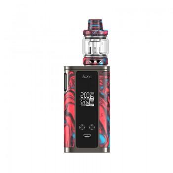 Eleaf iKonn Total 50W Mod with ELLO Mini 2ml Kit- Black Red