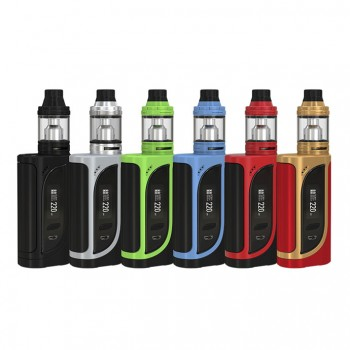 Eleaf iKonn Total 50W Mod with ELLO Mini 2ml Kit- Black Red