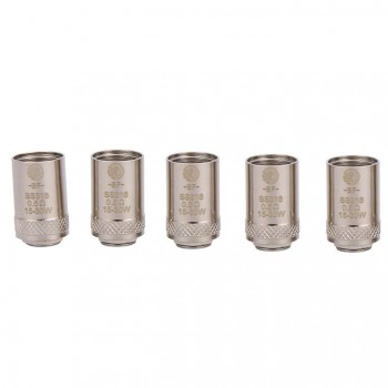 Joyetech Bottom Feeding Replacement Coil Head BF SS316 Lung Inhale Coil for CUBIS Atomizer 5pcs -0.5ohm