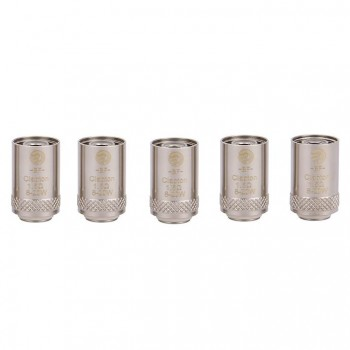 Joyetech Bottom Feeding Replacement Coil Head BF Clapton Mouth Inhale Coil for CUBIS Atomizer 5pcs-1.5ohm