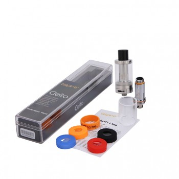 Aspire Cleito Sub Ohm Tank Kit Clearomizer Newest Tank with Top-Filling and 3.5ml Capacity - Stainless Steel