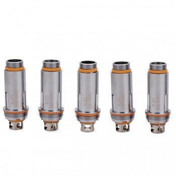 Aspire Cleito Tank Replacement Coil Head 5pcs - Dual Clapton 0.2ohm