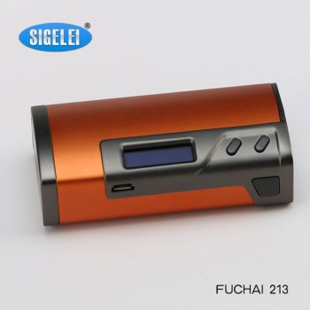 Sigelei 150W TC Temperature Control Variable Wattage Housing 2 18650 Battery Box Mod-Black