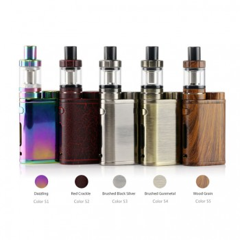 Joyetech eGrip OLED VT Starter Kit VT-Ni/VT-Ti/VW Mode 1500mah /3.6ml All-in-one Starter Kit with US Plug-White