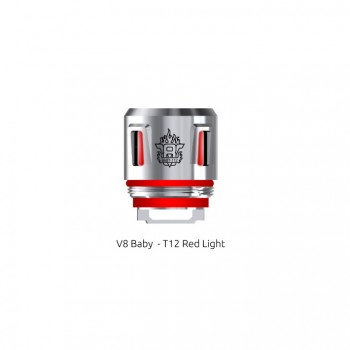V8 Baby-T12 Red Light Coil