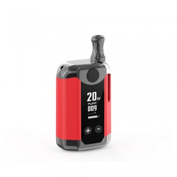 Kangvape TH-420 V BOX Kit Gunmetal Edition - Red