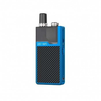 Lost Vape Orion Q Kit Blue-Black Weave
