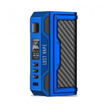 Lostvape Thelema Quest 200W Mod Matte Blue Carbon Fiber