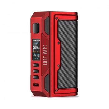 Lostvape Thelema Quest 200W Mod Matte Red Carbon Fiber