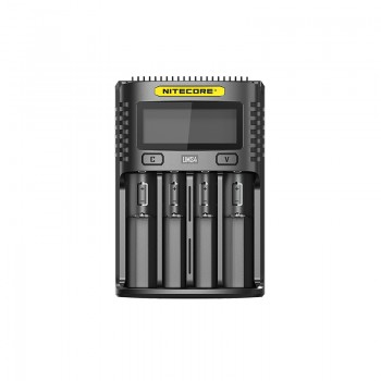 Nitecore D2 Digicharger with 2 Channels for Li-ion Battery - EU Plug
