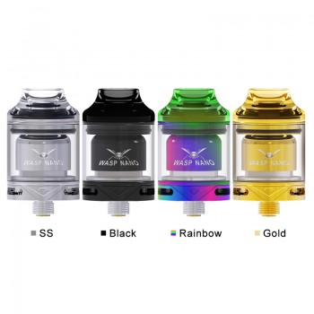 3 Colors for Oumier Wasp Nano Squonk Kit