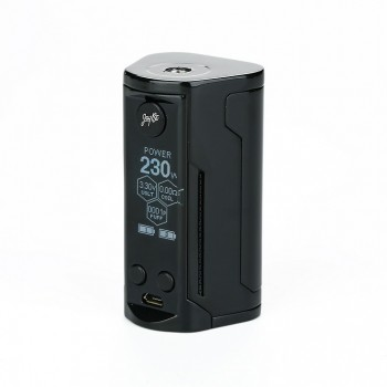 Kanger  KBOX 200W VW/TC Box Mod Powered by Dual 18650 Cells Spring-loaded 510 Connection-White