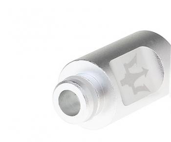 Minimalist Aluminum  27.5mm 510 Drip Tip 5pcs- silver