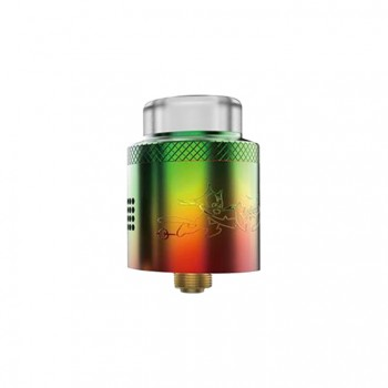 Wotofo The Troll V2 25mm with Dual Post Style RDA Rebuildable Dripping Atomizer-Black