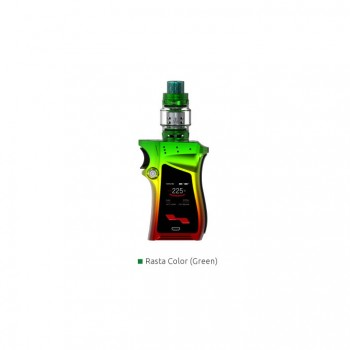 Smok Micro One Starter Kit Mirco 3.5ml TFV4 Tank with R80 80W TC Mod 4000mah Mod Kit Support SS/Ni200/Ti Wire Coils-Red