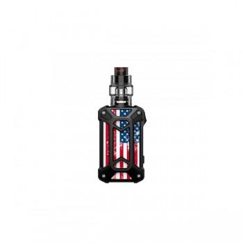 Rincoe Mechman 228W Mesh Kit Steel Case - American Flag Black