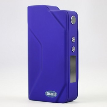 Sigelei 150W TC Temperature Control Variable Wattage Housing 2 18650 Battery Box Mod-Purple