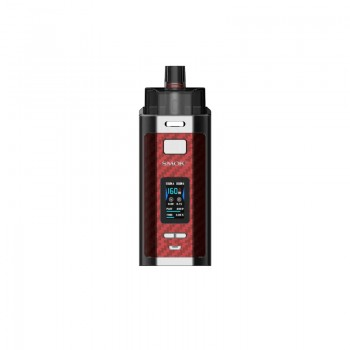 Smok RPM 160 Kit 7.5ml Red Carbon Fiber
