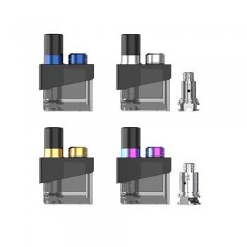 4Colors For SMOK Trinity Alpha Pod Cartridge with Coils