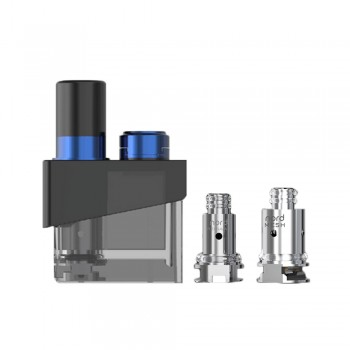 SMOK Trinity Alpha Pod Cartridge with Coils - Prism Blue