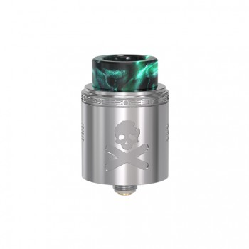 Wotofo Lush RDA Rebuildable Dripping Atomizer Quad Post Adjustable Airflow Control 22mm Diameter-Green+Red Spot