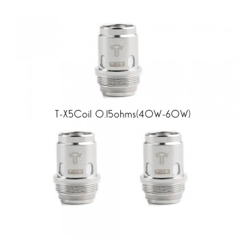 Tesla Citrine 24 T-X5 Replacement Coil 3pcs