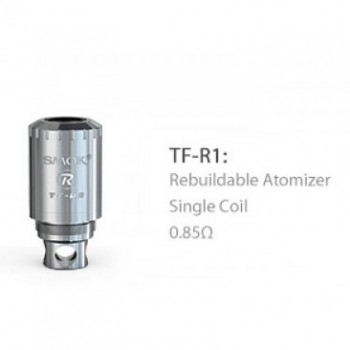 SMOK TFV4 Coil Head TF-R1 RBA Single Coil - 0.85ohm