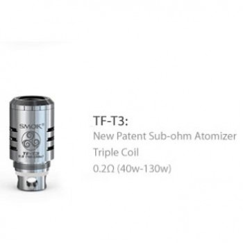 SMOK TFV8  Baby Replacement Pyrex Glass Tube 3pcs