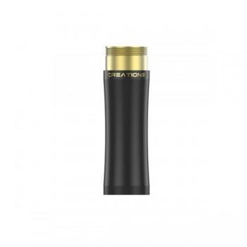 THC Extension Tube Brass in Black