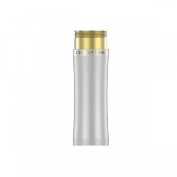 THC Extension Tube Brass in White