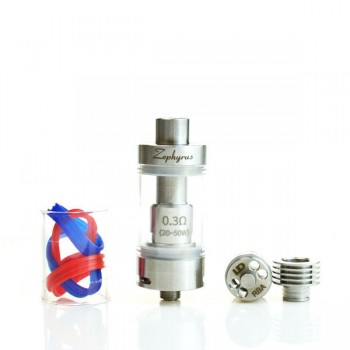 Youde Zephyrus 5.0ml RTA Sub-Ohm Tank Adjustable Airflow Tank-Stainless Steel