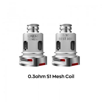 Ukeri S1 Mesh coil 0.3ohm 5pcs
