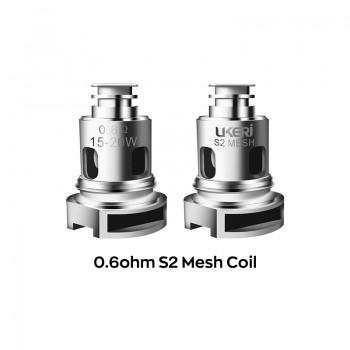 Ukeri S2 Mesh coil 0.6ohm 5pcs