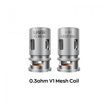 Ukeri V1 Mesh coil 0.3ohm 5pcs