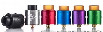 Morph Tank with 3 Coil Adaptor ATL, Sub, DEL by Ehpro and Eciggity -Stainless Steel