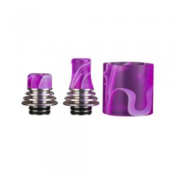 Vapefly Brunhilde MTL RTA Short Drip+Long Drip+Tube Purple
