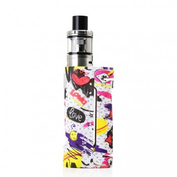 Joyetech eVic-VT VW Starter Kit 5000mah/4.0ml Large Capacity with Temperature Control Function US Plug-Black-Yellow