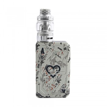Tesla Poker 218 Kit with Tallica Mini Tank White