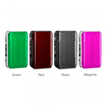 Pioneer4You IPV 8 TC 230W OLED Screen Box Mod YiHi SX330-F8 Chipset Powered by Dual 18650 Cells-Black