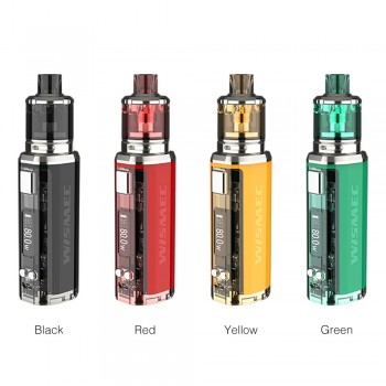 4 Colors for Wismec SINUOUS V80 Kit with Amor NSE Atomizer