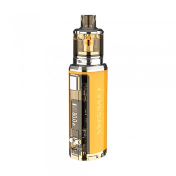 Wismec SINUOUS V80 Kit with Amor NSE Atomizer - Yellow